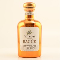 BACUR GIN BOTTEGA,  40% CL.50