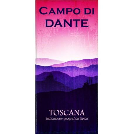 VINO ROSSO IGT TOSCANO CAMPO DI DANTE CL 75