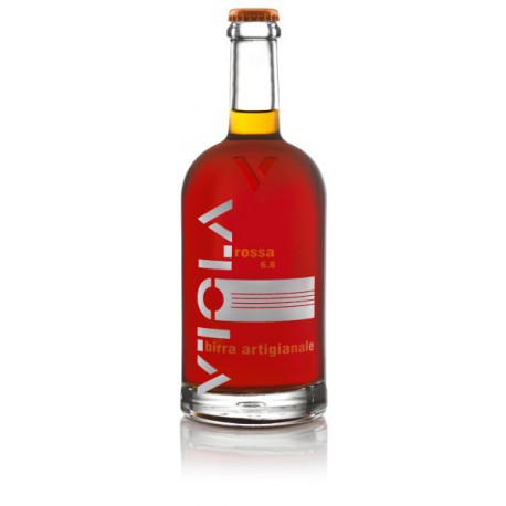 BIRRA VIOLA ROSSA ARTIGIANALE CL 75x6