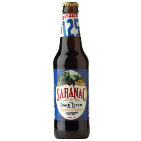 BIRRA SARANAC BLACK FOREST CL. 0,355X24