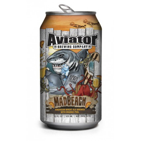BIRRA AVIATOR MAD BEACH WHEAT CL. 0,355