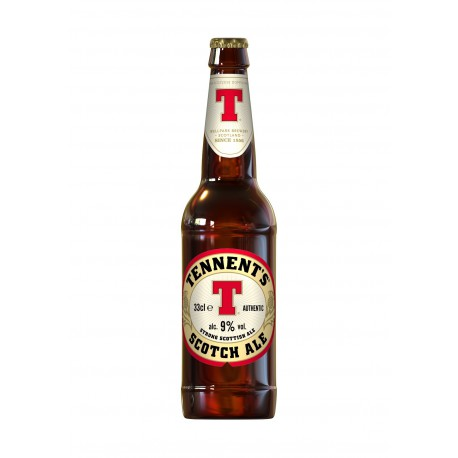 BIRRA TENNENT'S SCOTCH ALE CL.33x24