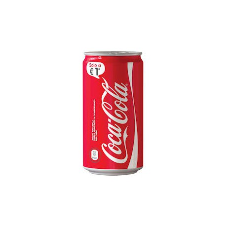 COCA COLA 250 ML EUROCAN